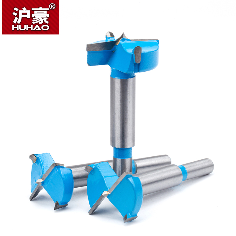 HUHAO Forstner Drill Punch Hole Drill Bit Woodworking Drilling Reaming Punch Hand Drill Bit Dia.18-60mm