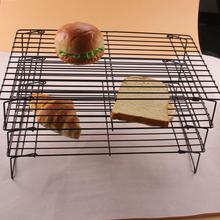 Antihaft Edelstahl Brot Pie Muffin Kekse Kuchen Gebäck Kühlung Backen Draht Backen Ofen Grid Halter Lüften trocknen Netto