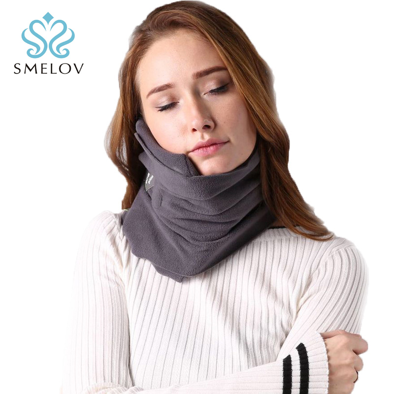 Comfoft bufanda cojín almohada de viaje cuello ergonómico portátil hogar aeroplano Avión de oficina cuello resto siesta almohadas de masaje