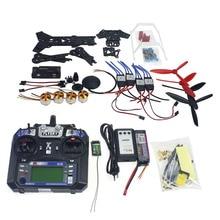 Full Set Drone Quadrocopter 4-axis Aircraft Kit 300H 300mm Frame 6M GPS APM 2.8 Flight Control Flysky FS-i6 Transmitter F11859-F