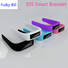 New fashion E05 Bluetooth smart health monitoring bracelet pedometer SPORTS BRACELET