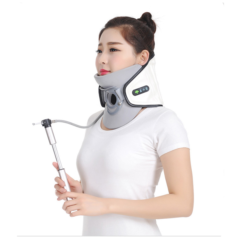 Newest Adjustable Cervical Vertebra Tractor Using PU Leather And High Grade Cotton Fabric Material Inflatable Traction rajat sareen shiv kumar sareen and ruchika jaswal non carious cervical lesions