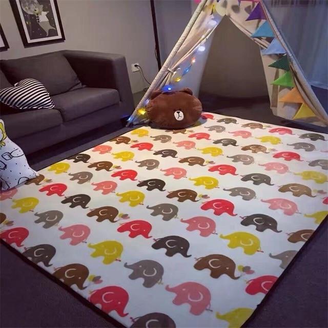 Fashion Cartoon Floor Bathroom Foot Yoga Baby Play Mat Hallway Living Room  Bedroom Decorative Carpet Area