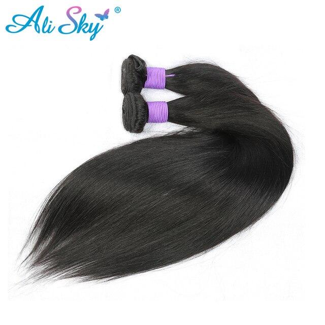 Ali Sky Malaysian Nonremy Hair Straight Weave Bundles 1pc 8 26