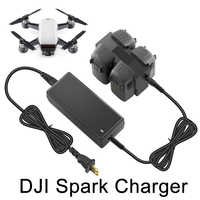 Parallel Charging Hub Battery Charger for DJI SPARK Drone Intelligent Flight Battery Manager Charging Station Display Monitor