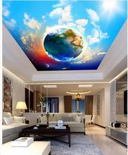 Wallpaper 3d stereoscopic Star blue cloud 3d wallpaper modern for living room murals ceiling Wall Decoration white and black 3d wallpaper modern for living room murals 3d room wallpaper landscape home decoration