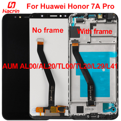 for Huawei Honor 7A Pro LCD Display+Touch Screen with frame LCD Screen for Huawei Honor 7A AUM AL00/AL20/TL00/TL20/L29/L41 5.7
