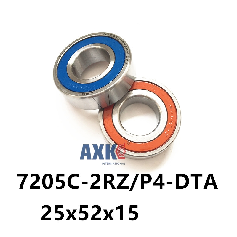 2018 Rodamientos Axk 7205 7205c-2rz/p4-dta 25x52x15*2 Sealed Angular Contact Bearings Speed Spindle Cnc Abec 7 High-quality vitaly mushkin sexe avec le dragon le phallus géant