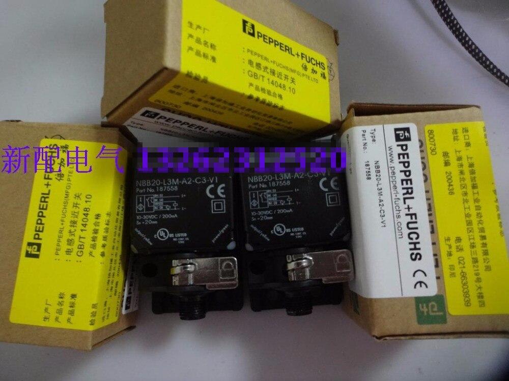Original new 100% special selling high precision new sensor NBB2-L3M-A2-C3-V1 proximity switch [sa] new original special sales p f sensor switch nbb2 12gm50 e2 v1 y89923 spot