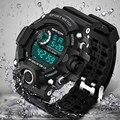 Часы SANDA мужские  модные  цифровые  армейские  спортивные  водонепроницаемые  кварцевые