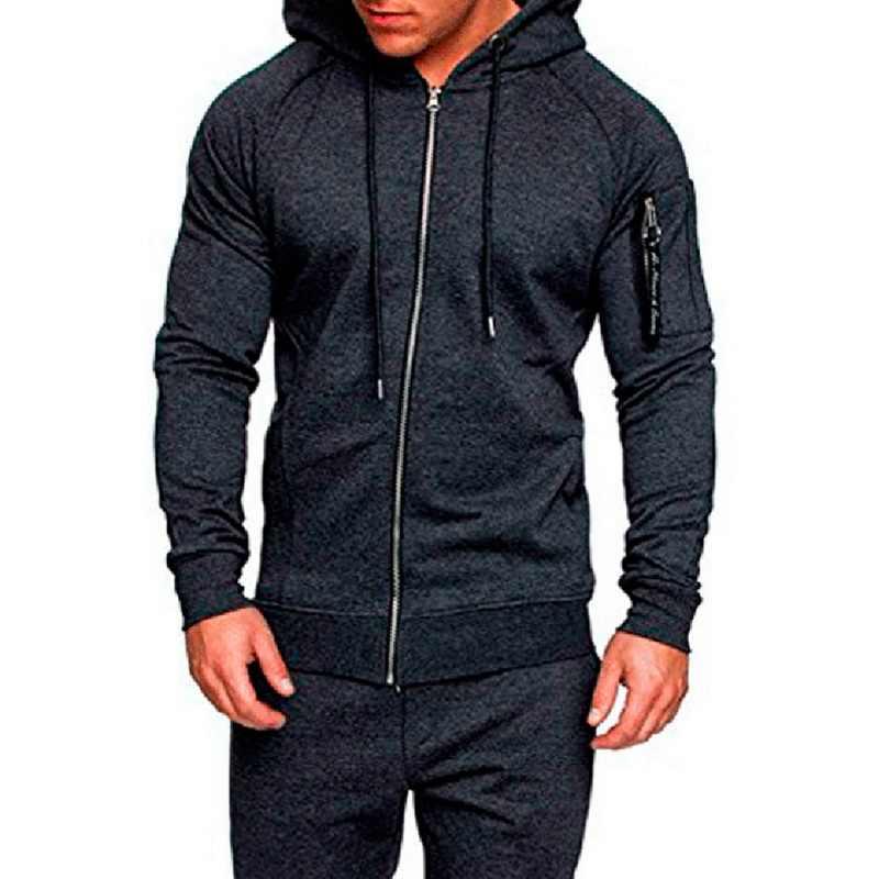 Puimentiua 2019 мужской Камуфляжный спортивный костюм, Весенняя Мужская мышечная тренировка, спортивный костюм, толстовка, пальто, спортивные штаны, костюм, брюки