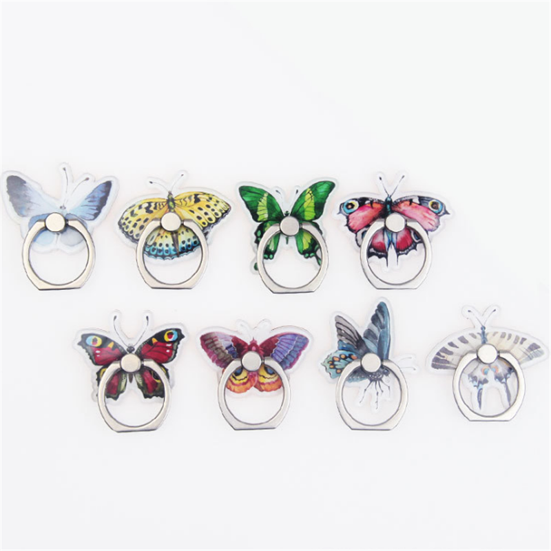 Universal Stent Mobile Phone Holder Stand Butterfly Finger Ring Magnetic For Cell Smart Phone Stand Holder For Iphone XS MAX 8