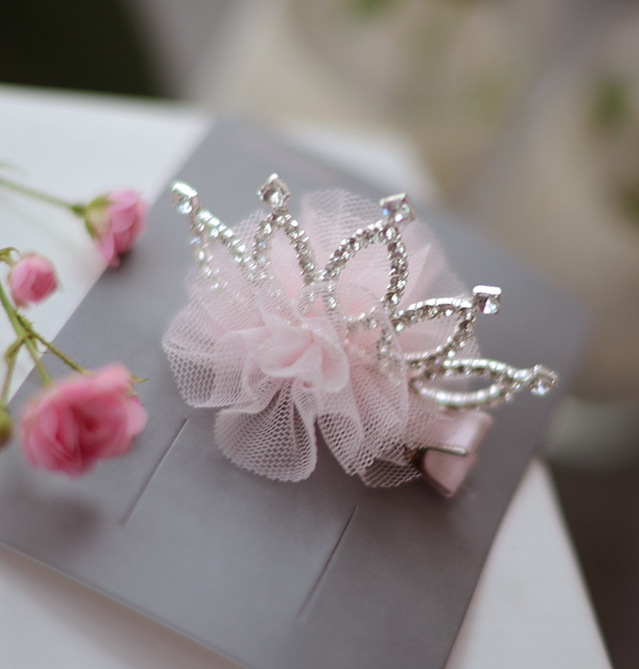 Girl Headwear Spring Flower Crown Baby Girl Hair Clip Hairpin Kids Children Hair Accessories kk1718 8 pieces children hair clip headwear cartoon headband korea girl iron head band women child hairpin elastic accessories haar pin