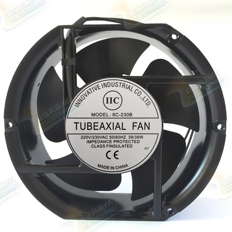 New original 6C-230B welding machine dedicated cooling fan 17251 220V AC fan new original bi sonic fan 6c 230hb c 1751 220v capacitor run type case coolinig