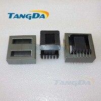 Tangda EE65B core EE Bobbin magnetic core + skeleton soft magnetism ferrites magnetic core 6+6pin SMPS RF Transformers