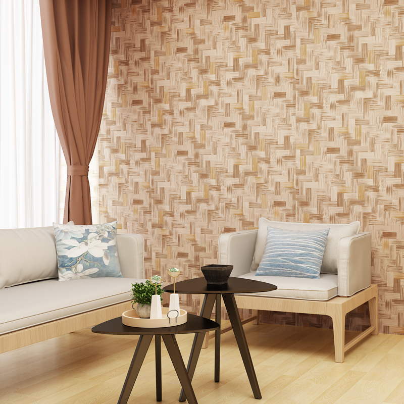Aliexpress.com : Buy Wall Mural Modern Elegant Wallpaper PVC Wall Covering  Bamboo Pattern Restaurant Wall Paper For Walls Waterproof Vinyl Wallpaper  From ... Part 96