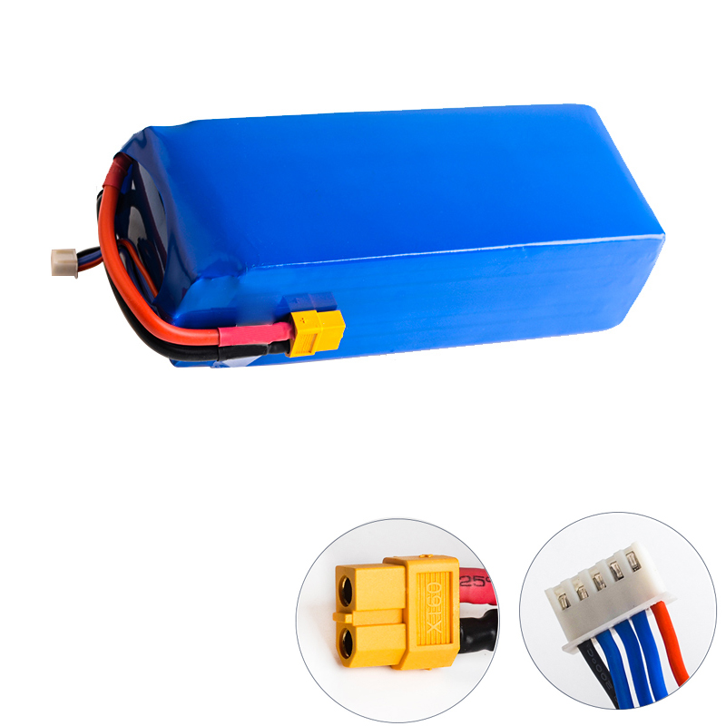 14.8V <font><b>16000MAH</b></font> 16ah 20C <font><b>4S</b></font> Li polymer Battery 20C Battery for 14.8V Multi Axis Vehicle Model Aircraft Plant Protection Machine image