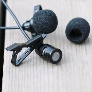 Image 3 - Ulanzi Arimic Hands Free двухголовый петличный микрофон 6 м мини клип на лацкане микрофон для iPhone для интервью встречи лекции