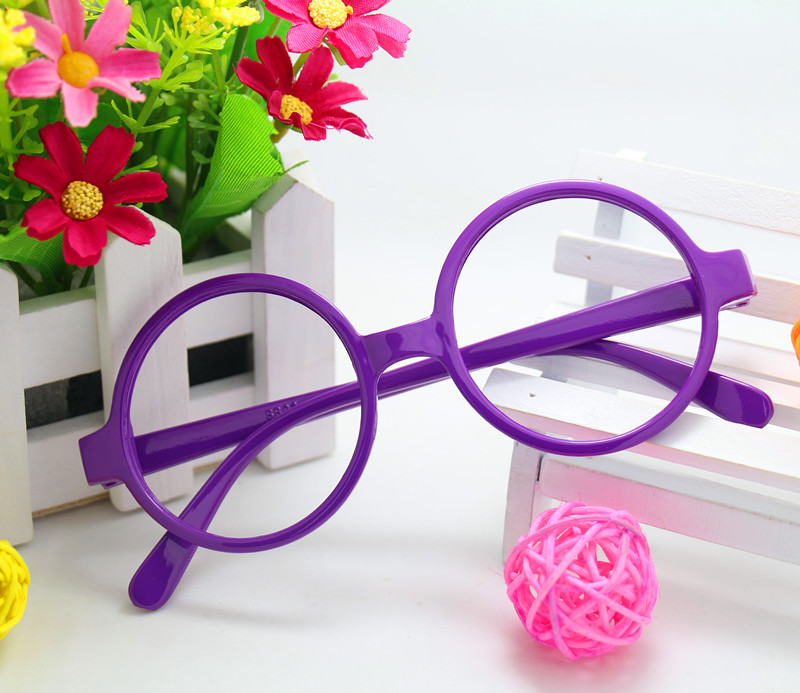 Wholesale of small round glasses frame children Arale Harry Porter childrens glasses frame and tide without lens