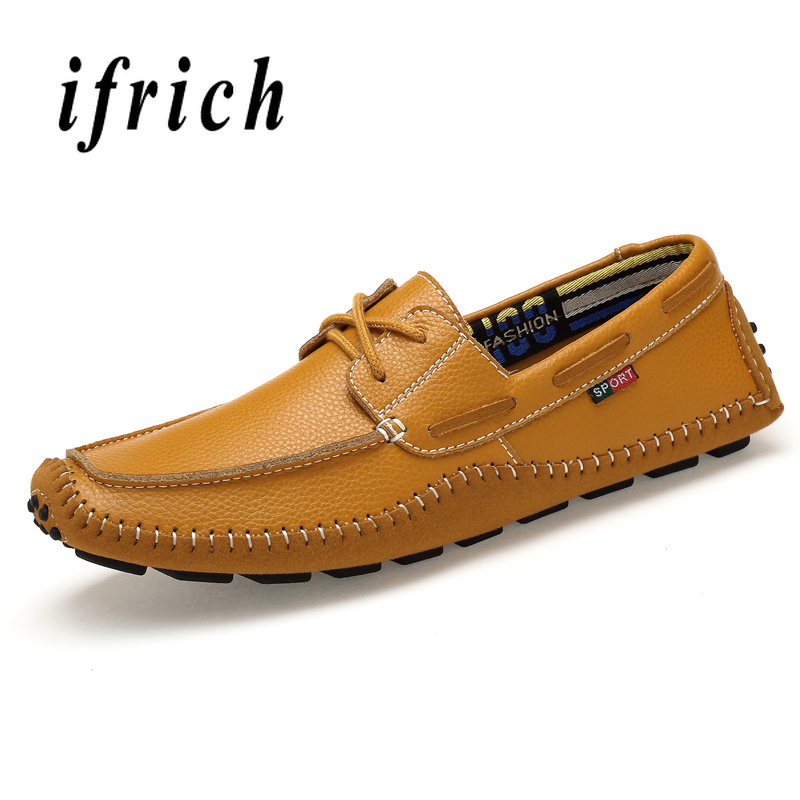 Walking Driver Shoes Brown Blue Male Plus Size 45 46 47 Shoes Weight Light Casual Loafers Shoes Young Anti Slip Lazy Shoes Men