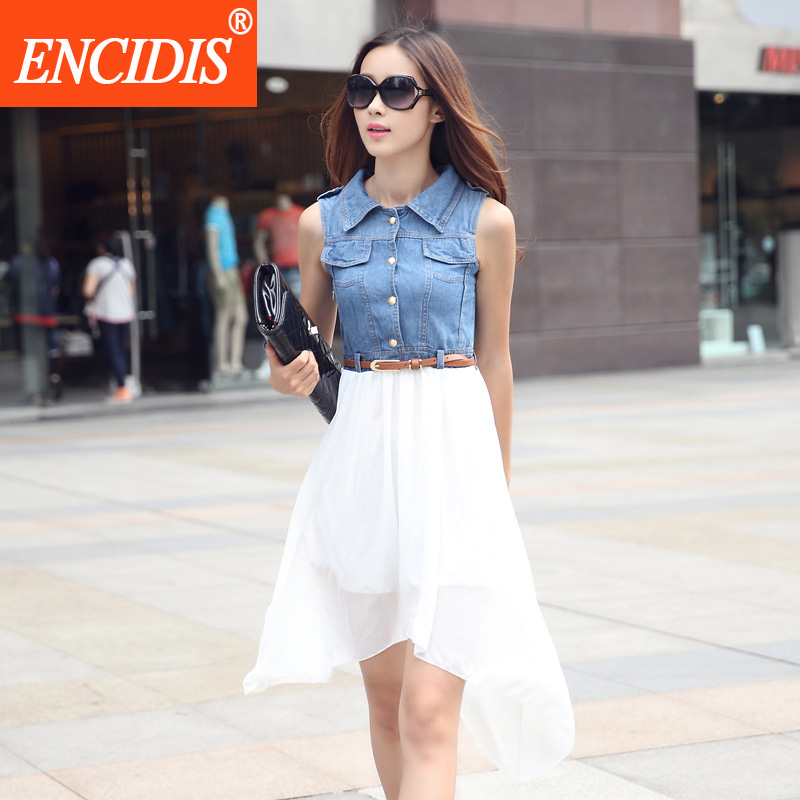 Popular Denim Swing Dress-Buy Cheap Denim Swing Dress lots ...