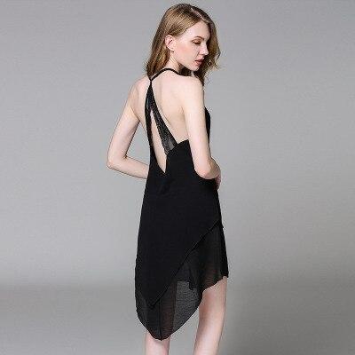 New Women Strappy Sleepwear Lace V-Neck   Nightgown   Trim Chemise   Nightgown   Slip Lingerie Dress Summmer Sexy Backless   Sleepshirt
