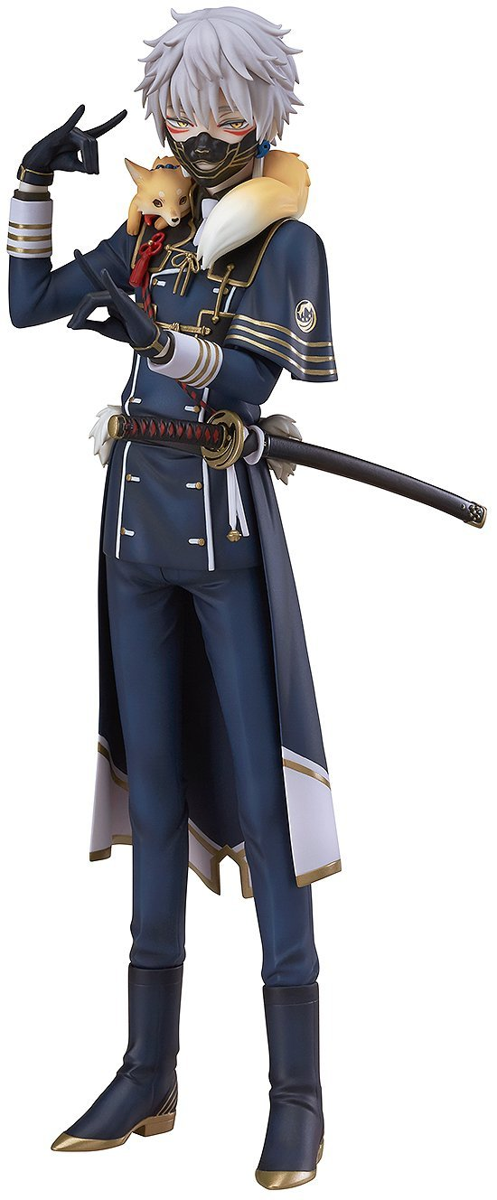 23.5cm Japanese anime figure Touken Ranbu Online Nakigitsune action figure collectible model toys for girls vogue good smile shokitsunemaru fox ball kimono with sword 9 from action figure nitro game touken ranbu online