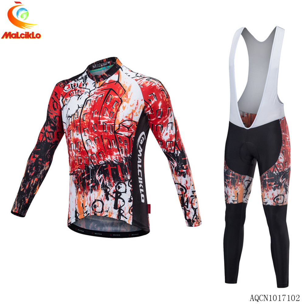 2019 Outdoor sport Men Bike Jersey Cycling Shirt bib Shorts set Bicycle wear H61