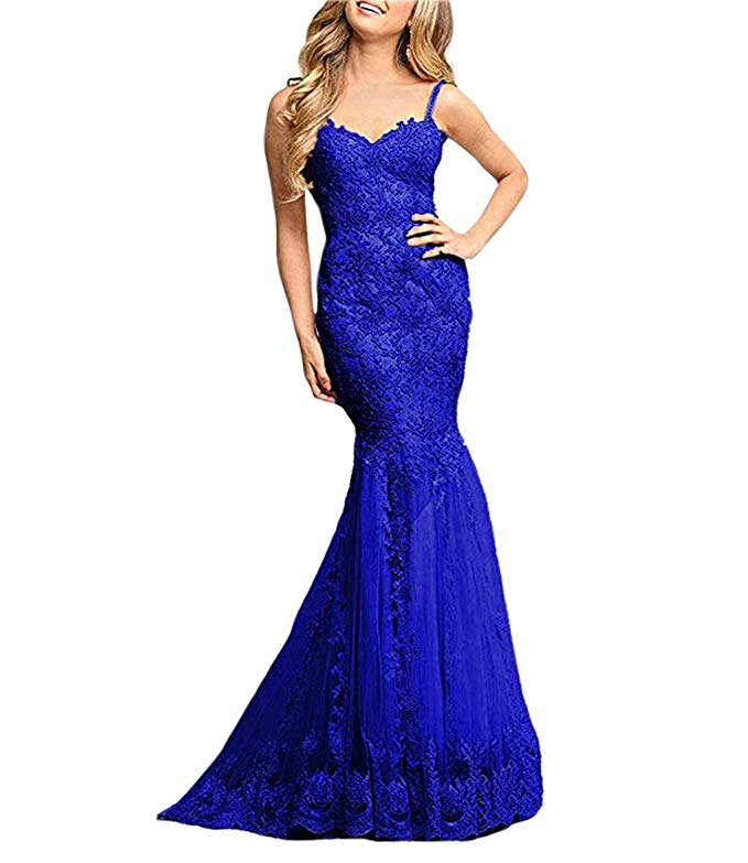 2019 Women's Mermaid   Dress   Sweetheart Straps Formal   Prom     Dress   Evening Gowns Vestidos De Fiesta Largos