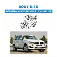 PP stoßstange vorne stoßstange hinten seite röcke Grill Grille Netz Stoßstange Wache Body Kits Für BMW X5 F15 ZU X5M f15 2016-2017