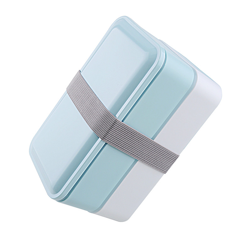 3 Colors 1000ml Double Layer Lunch Box Food Storage Container Microwave Oven Bento Boxes Dinnerware Lunchbox BPA Free