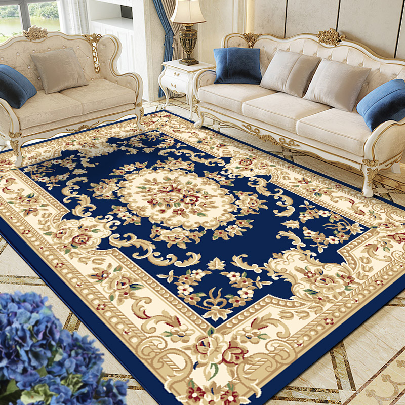 European Nordic Style Non-Slip Faric Design Carpet  Rug For Living Room Sofa Tea Table Bedside Bedroom