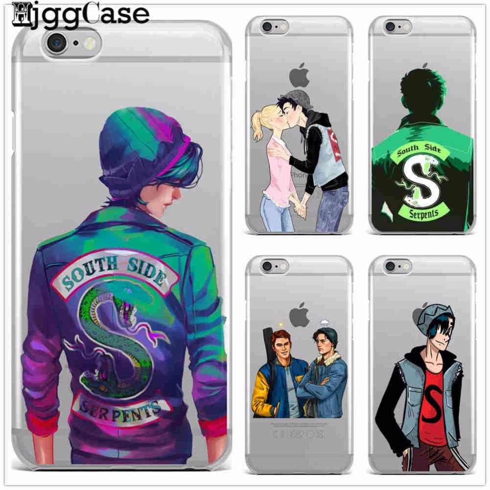 American TV Riverdale soft Silicone Cover Case For iPhone X XR XS MAX 5 5S SE 6 6S Plus 7 7Plus 8 8Plus Cover Fundas Capa