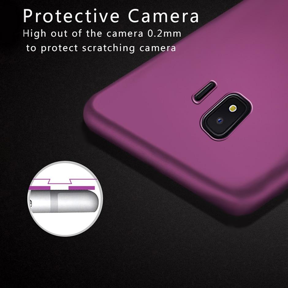 For Samsung Galaxy J2 Core Case Luxury Hard PC Back Cover For Samsung Galaxy J2 Core 2018 J260 J260F J2core Phone Case Bumper