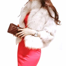 Winter Warm Korean Fashion Luxury Quality Overcoats Women's faux Fur Coatsjacket Outerwear