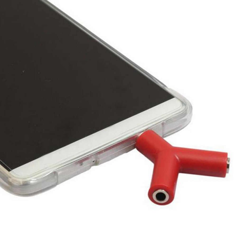 3,5 мм y-образный разветвитель наушников адаптер двойной разъем адаптер совместимый для Samsumg для iPhone mp3-плеер