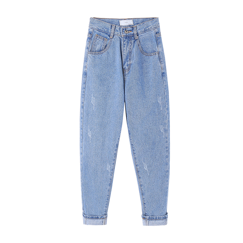 hd3b 2018 new gangneung fashion all in one high waist casual haroon vintage jeans Is022 cherry