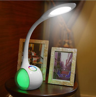 Fashion Flexible Touch Dimmer Reading LED Table Lamp USB Charge Eye Protection Kids Bedroom Bedside Night