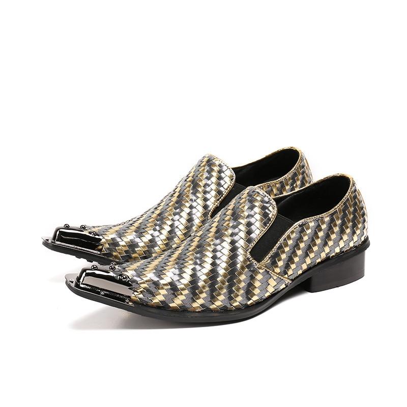 Mocasines Cuero Italiano Mezclados Hombres Zapatos Vintage A Hombre Top Colores 1 Mano Beertola Genuino Estilo Hecho De Los qwxO50a