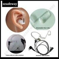עבור baofeng טוקי 10pcs / הרבה טוקי פטריות סיליקון אוזניית eartip עבור מוטורולה עבור האוזנייה צינור ערכת מעקב רדיו Baofeng שני בדרך (5)