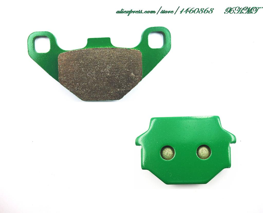 Brake Pad Set For Kawasaki Klr250 Klr 250 All Models (1984-2000) Klr570 Klr 570 (88&Up) Klr600 Klr 600 (84-88) (85&Up) (92&Up)