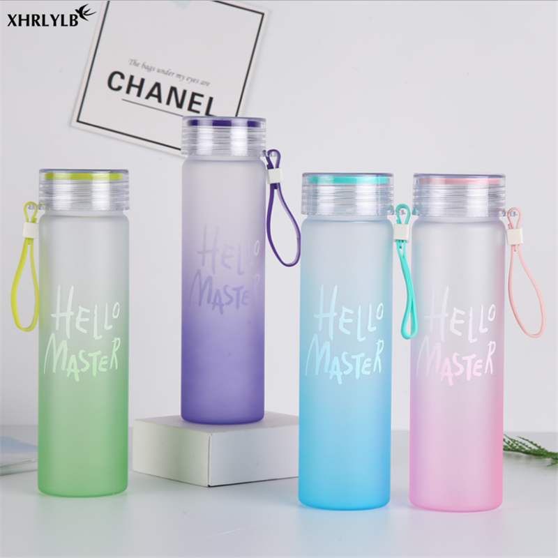 XHRLYLB Creative Gradient Color Student Couple Frosted Hand Cup To Give The Guest A Wedding Gift Home Decoration Accessories.7z