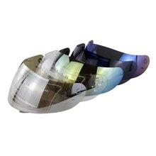Motorcycle helmets visor K3&K4 motor bike helmet shield fitting for capacetes casco full face motorcycle helmet visor anti scratch replacement full face shield for agv k3 k4 helmets