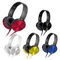 Banda de cabeça originais portátil jogo fones de ouvido do computador fone de ouvido estéreo fone de ouvido para sony mdr dj grande diafragma 450ap 7506 encantos