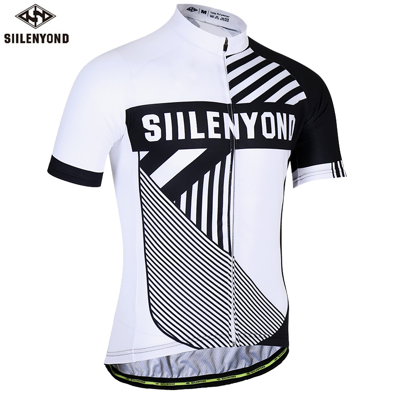 Anti-UV Summer Cycling Clothing 100% Polyester Sportswears Cycling Jersey MTB Bicycle Clothing Ropa Ciclismo(China)