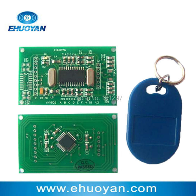 Anti-cloned UID card RFID Reader Writer Module 13.56Mhz ISO 14443A UART 3V-5V YHY502CTG +SDK+3 Tags стоимость