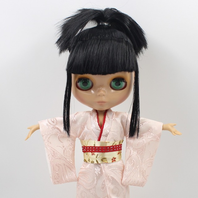 ICY Neo Blythe Doll Black Hair Jointed Body
