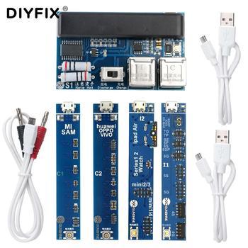 DIYFIX Universal Telefon Batterie Schnelle Lade und Aktivierung Bord für iPhone Samsung für China Smartphone Reparatur Werkzeug Set