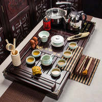 Chinese tea set solid wood tray special offer Kungfu induction cooker wholesale development of customized products