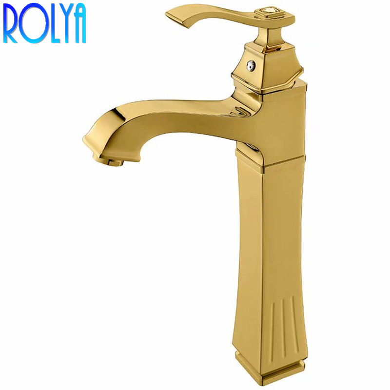 Rolya High Body Basin Faucet Exclusive Countertop Lavatory ...